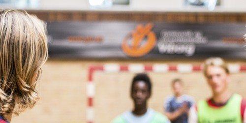 Banner Håndbold i Idrætshallen