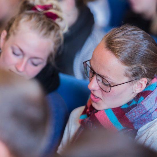 Elevmøde på Idrætshøjskolen Viborg