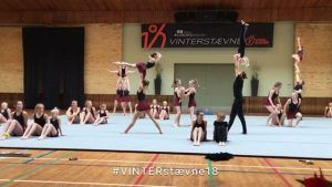 vinterstævne, opvisning, gymnastik, akrobatik, idrætshøjskolen viborg