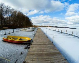 Frossen sø, søndersø, viborg, idrætshøjskolen viborg