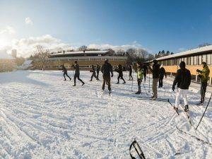 ski, langrend, idrætshøjskolen viborg