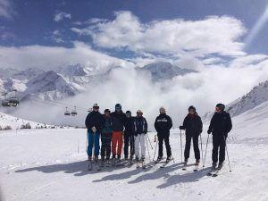 skitur, rejse, idrætshøjskolen Viborg