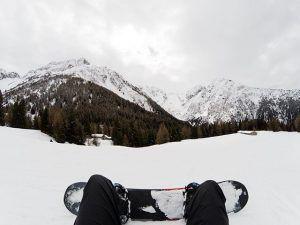 snowboard, skitur med højskolen, idrætshøjskolen Viborg, rejse,
